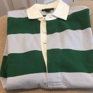 NWOT J. Crew classic rugby shirt